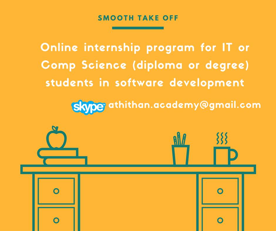 Internship Program for IT & Comp. Sciencestudents